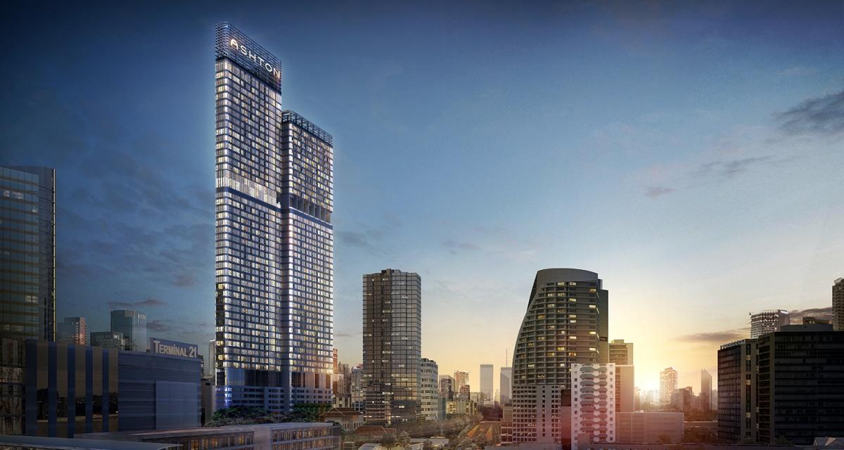 バンコクのサービスアパートは基本的には2種類に分かれる